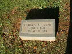 Clarice G <i>Schrimsher</i> Buckner