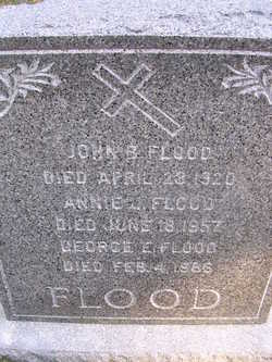 Annie Josephine <i>McDonald</i> Flood