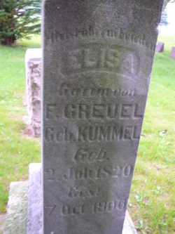 Elisa <i>Kummel</i> Greuel