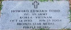 Howard Edward Ed Todd