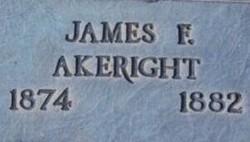 James F Akeright