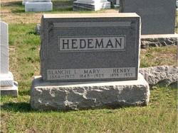 Mary <i>Bloss</i> Hedeman