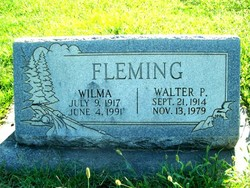 Wilma <i>Campbell</i> Fleming