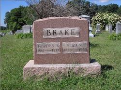 Eliza Virginia <i>Armstrong</i> Brake
