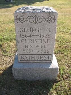 Christine <i>Bitterly</i> Bathurst