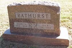 Harry Alvin Bathurst
