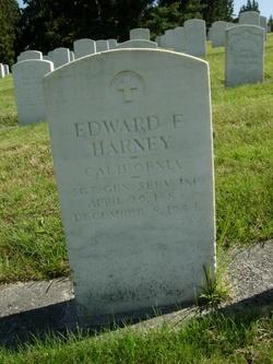 Edward F Harney