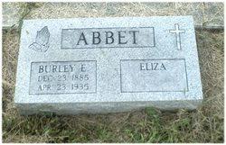Burley E Abbet