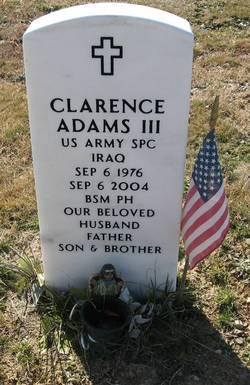 Clarence Adams, III