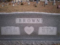 Weldon Joseph Brown
