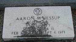 Aaron Millard Jessup, Sr