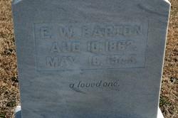 Early Woodfin Barton