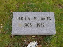 Bertha M. Bates