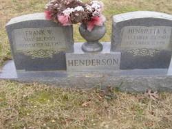 Henrietta B. Henderson