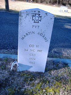 Pvt Martin Adams