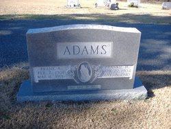 Frankie <i>Huffstetler</i> Adams