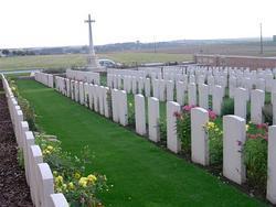 Windmill British Cemetery, Monchy-le-Preux