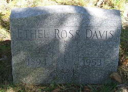 Ethel <i>Ross</i> Davis