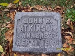 John R Atkinson