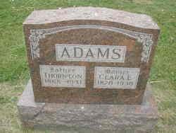 Clara E Adams