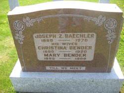 Christina <i>Bender</i> Baechler