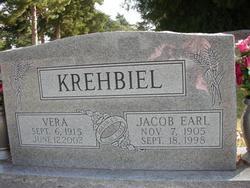 Jacob Earl Krehbiel