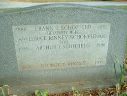 Lura Edna <i>Kinney</i> Schofield