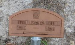 Effie Rhodes Bell