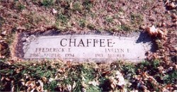 Frederick Thomas Chaffee