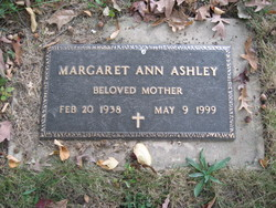 Margaret Ann Ashley