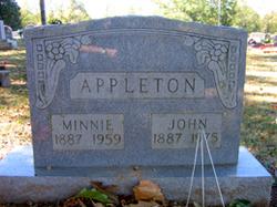 Minnie <i>Fralix</i> Appleton