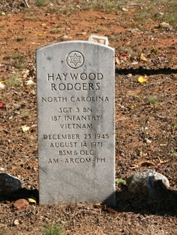 Sgt Haywood Rodgers