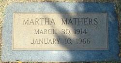 Martha <i>Mathers</i> DeGrassi