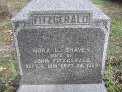 Nora L <i>Shaver</i> Fitzgerald