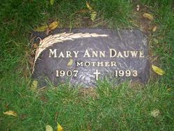 Mary Ann <i>Havalack</i> Dauwe