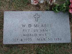 W. D. McAbee