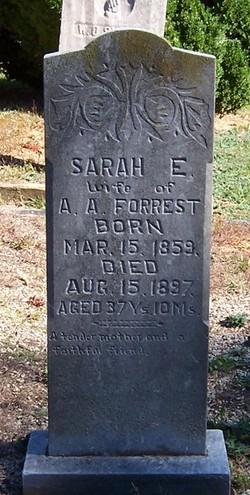 Sarah Elizabeth <i>Snider</i> Forrest