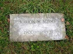 Marion Winona Adams