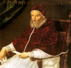 Pope Gregory, XIII