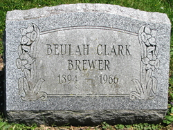 Beulah <i>Clark</i> Brewer