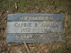 Carrie Buddy <i>Bagley</i> Adams