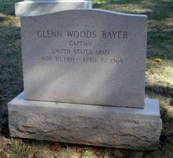 Capt Glenn Woods Bayer