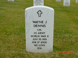 Wayne J Dennis