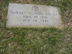 Barney Claude Adcox
