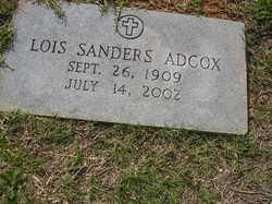 Lois <i>Sanders</i> Adcox