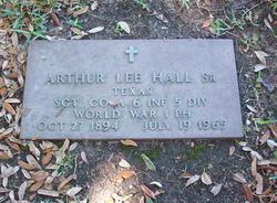 Arthur Lee Hall, Sr