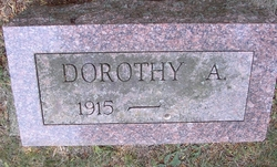Dorothy A Andrews