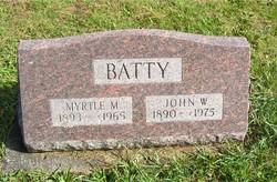 Myrtle M <i>Fultz</i> Batty