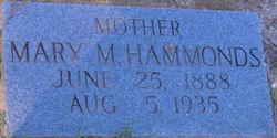 Mary M Hammonds