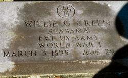 Willie G Green